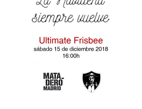 Ultimate Frisbee en La Navideña 2018